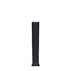 punho-plástico-mangueira-preto